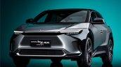 Toyota Bz4x Concept Front Quarter