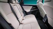 Toyota Bz4x Concept Interior Rear