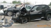 Nissan Magnite Accident Side View