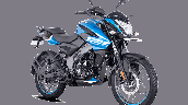 Bajaj Pulsar Ns125 Blue Front Right