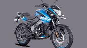 Bajaj Pulsar Ns125 Blue Front Right