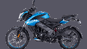 Bajaj Pulsar Ns125 Blue Left