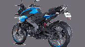 Bajaj Pulsar Ns125 Blue Rear Left
