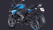 Bajaj Pulsar Ns125 Blue Rear Left
