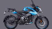 Bajaj Pulsar Ns125 Blue Right