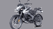 Bajaj Pulsar Ns125 Grey Front Left