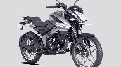Bajaj Pulsar Ns125 Grey Front Right