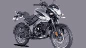 Bajaj Pulsar Ns125 Grey Front Right