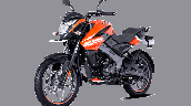 Bajaj Pulsar Ns125 Orange Front Left