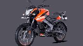 Bajaj Pulsar Ns125 Orange Front Left