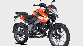 Bajaj Pulsar Ns125 Orange Front Right