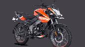 Bajaj Pulsar Ns125 Orange Front Right