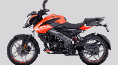 Bajaj Pulsar Ns125 Orange Left