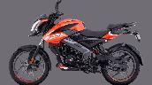 Bajaj Pulsar Ns125 Orange Left