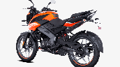 Bajaj Pulsar Ns125 Orange Rear Left