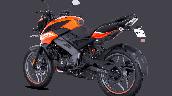 Bajaj Pulsar Ns125 Orange Rear Left