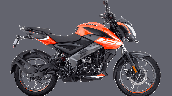 Bajaj Pulsar Ns125 Orange Right
