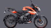 Bajaj Pulsar Ns125 Orange Right