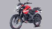 Bajaj Pulsar Ns125 Red Front Left