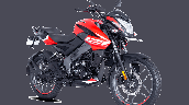 Bajaj Pulsar Ns125 Red Front Right