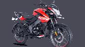 Bajaj Pulsar Ns125 Red Front Right
