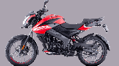 Bajaj Pulsar Ns125 Red Left
