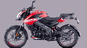 Bajaj Pulsar Ns125 Red Left