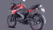 Bajaj Pulsar Ns125 Red Rear Left
