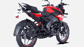Bajaj Pulsar Ns125 Red Rear Right