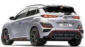 Hyundai Kona N Rear Quarter