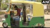 Bajaj Re Makeshift Ambulance