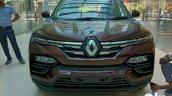 Front Look Of Renault Kiger Rxz Amt