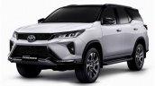 Toyota Fortuner Legender Front Three Quarters