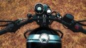 Royal Enfield Meteor 350 Pure Black Cockpit Top Vi