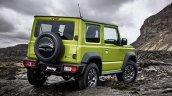 Suzuki Jimny Green Rear Three Quarters