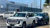 Toyota Land Cruiser Lc 300 Spied Front Quarter