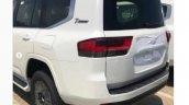 Toyota Land Cruiser Lc 300 Spied Rear Quarter
