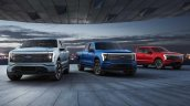 2022 Ford F 150 Lightning Front View
