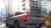 2022 Ford F 150 Lightning Rear Quarter View