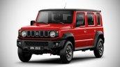 Front Side Look Of Suzuki Jimny 5 Door