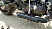 Modified Royal Enfield Thunderbird Exhaust