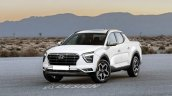 Front Side Look Of Hyundai Creta Pickup Truck Rend