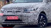 Volkswagen Taigun Lower Trim Spied Headlamps