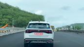 Volkswagen Taigun Spied Rear