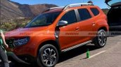 Front Side Look Of Upocming Dacia Duster 7 Seater