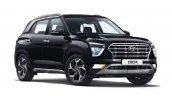 Hyundai Creta Right Front Black 2020