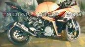New Ktm Rc 390 Spy Shot Right Side