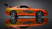 Toyota Supra Fast And Furious Side