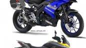 Yamaha R15 Sports Tourer Rendering