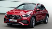 Front Side Look Of 2021 Mercedes Benz Gla
